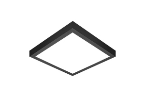 MADERA 2 LED 600x600 czarna